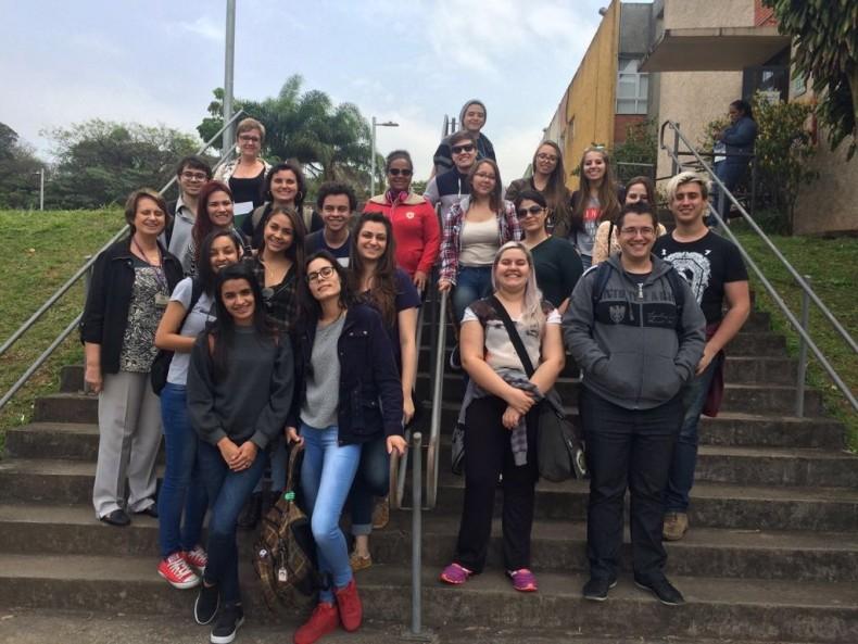 Visita alunos Sorocaba